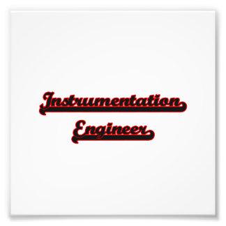Instrumentation Engineer Classic Job Design Photographic Print