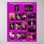 Instrumentos Orquesta II  Instruments Orchestra II Impresiones