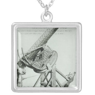 Instruments d'optique' by Dom Noel Silver Plated Necklace