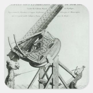 Instruments d'optique' by Dom Noel Square Sticker