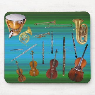 Instruments of the Orchestra Mouse Mat
