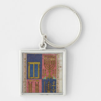 Instruments of the Temple Key Ring