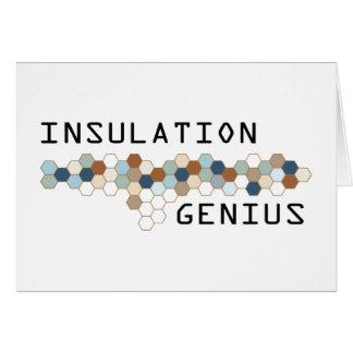 Insulation Genius Card