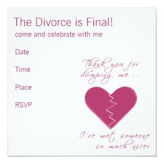 Insulting Valentine 13 Cm X 13 Cm Square Invitation Card
