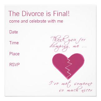Insulting Valentine Personalized Invite