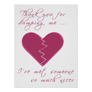 Insulting Valentine Poster