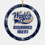 Insurance Agent Gift Ornament