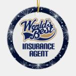 Insurance Agent Gift Ornament
