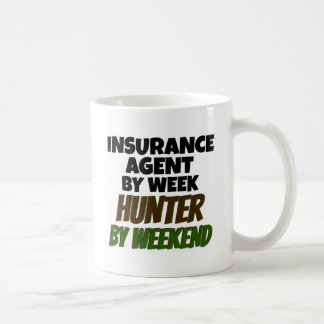 Insurance Agent Loves Hunting Coffee Mug