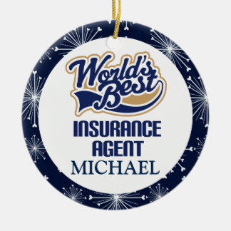 Insurance Agent Personalized Ornament