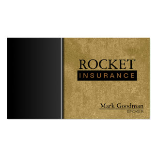Insurance Broker Business Card - Sophisticated