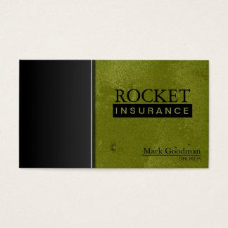 Insurance Broker Business Card - Sophisticated