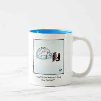"Insurance Humor Coffee Mug ""Spectickles"""