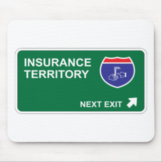 Insurance Next Exit Mouse Mat