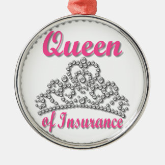 Insurance Queen Christmas Ornament