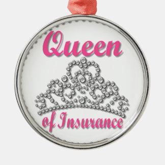 Insurance Queen Christmas Ornament