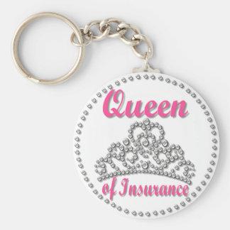 Insurance Queen Key Ring