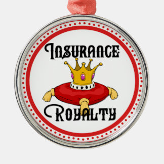 Insurance Royalty Christmas Ornament