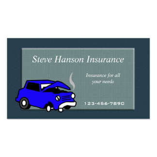 Insurance Salesman  business card