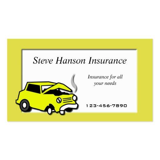 Insurance Salesman  business card