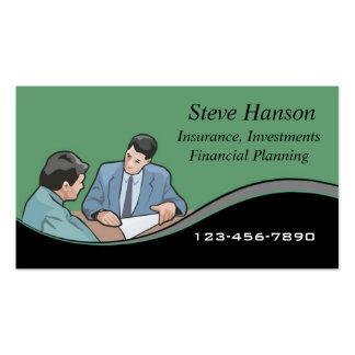 Insurance Salesman Pack Of Standard Business Cards