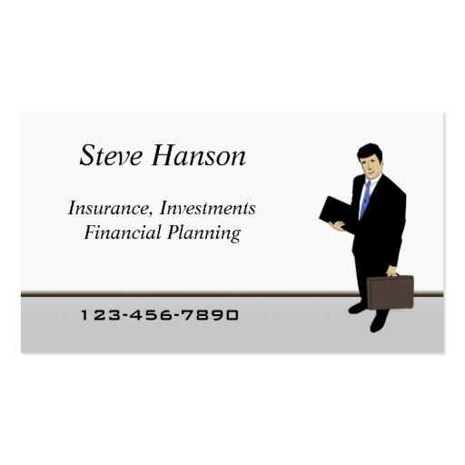 Insurance Salesman Business Card Templates