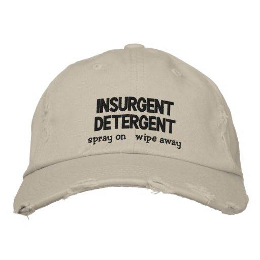 Insurgent Detergent Embroidered Hat