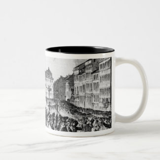 Insurrection in Berlin Two-Tone Coffee Mug
