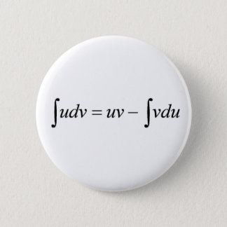 Integral Calculus 6 Cm Round Badge