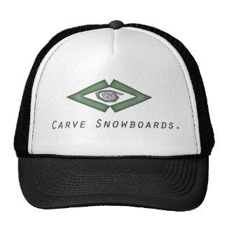 integrated carve hat
