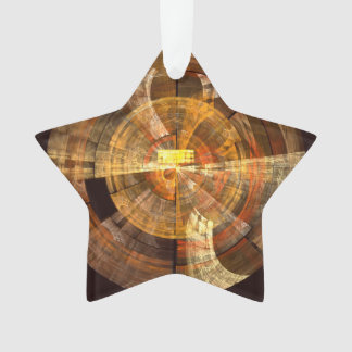 Integrity Abstract Art Acrylic Star Ornament