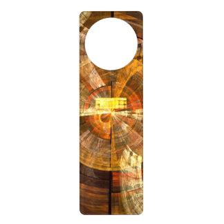 Integrity Abstract Art Door Hanger