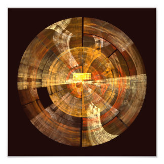 Integrity Abstract Art Photo Print