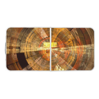 Integrity Abstract Art Pong Table