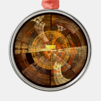 Integrity Abstract Art Round Christmas Ornament