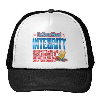 INTEGRITY Dr Bum Head Cap