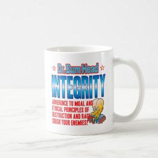 INTEGRITY Dr Bum Head Mugs
