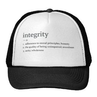 integrity hats