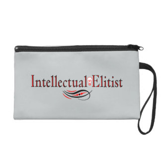 """Intellectual Elitist"" Wristlet"