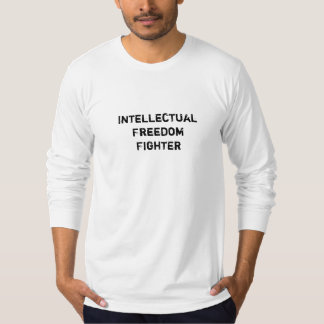 Intellectual Freedom Fighter Reads Banned Books T-Shirt