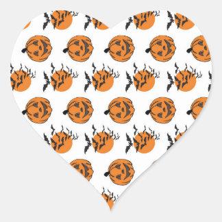 Intellectual Merit Effervescent Grin Heart Sticker