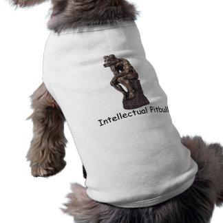 Intellectual Pitbull Sleeveless Dog Shirt
