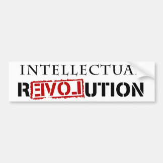 Intellectual rEVOLution Bumper Stickers
