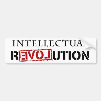 Intellectual rEVOLution Bumper Stickers