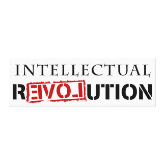 Intellectual rEVOLution Canvas Print