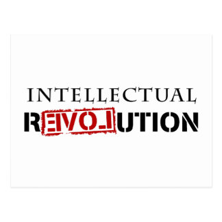 Intellectual rEVOLution Post Cards