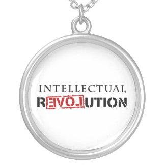 Intellectual rEVOLution Round Pendant Necklace