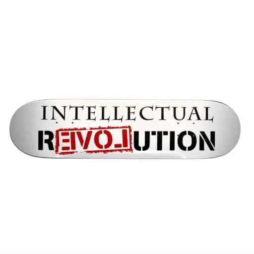 Intellectual rEVOLution Skateboard Deck