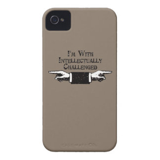 Intellectually Challenged iPhone 4 Case