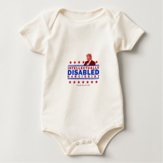 Intellectually Disabled Narcissist Baby Bodysuit